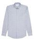 Knight blue cotton check shirt Sale - Reiss Sale