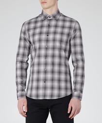 Articuno black & white check shirt