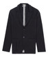 Morsby navy cotton blend jacket Sale - Reiss Sale