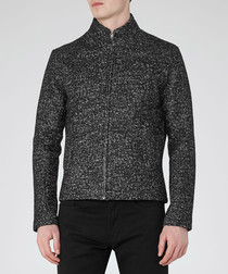 Men's Edward grey wool blend jacket