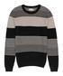 Rigour black & beige pure cotton jumper Sale - Reiss Sale