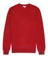 Men's Emperor red pure wool jumper Sale - Reiss Sale