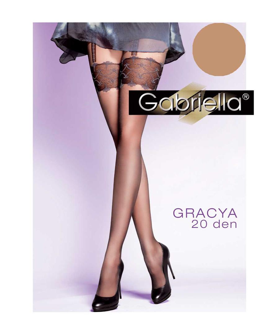 Gracya beige 20 denier tights Sale - gabriella hosiery