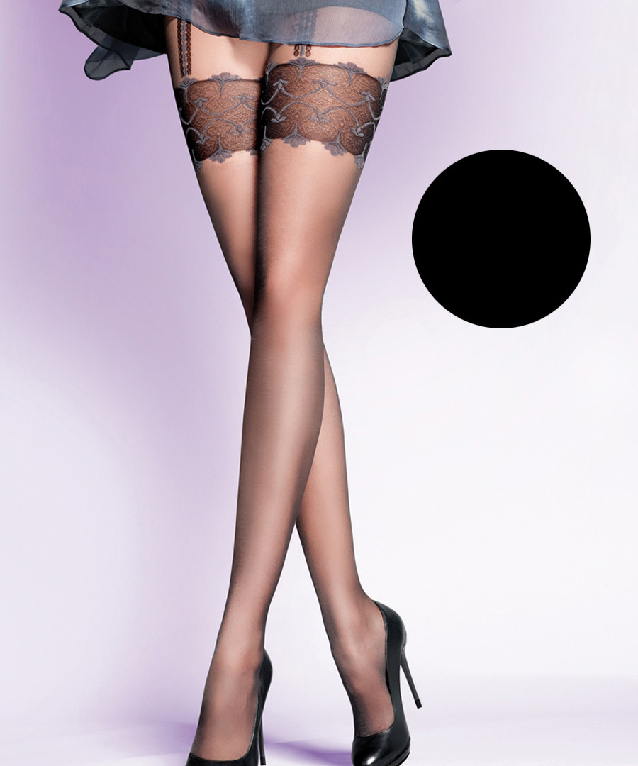 Gracya black 20 denier tights Sale - gabriella tights