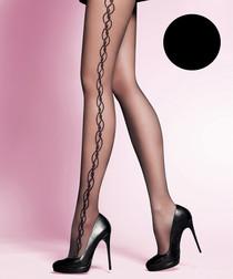 Suzan black 20 denier tights