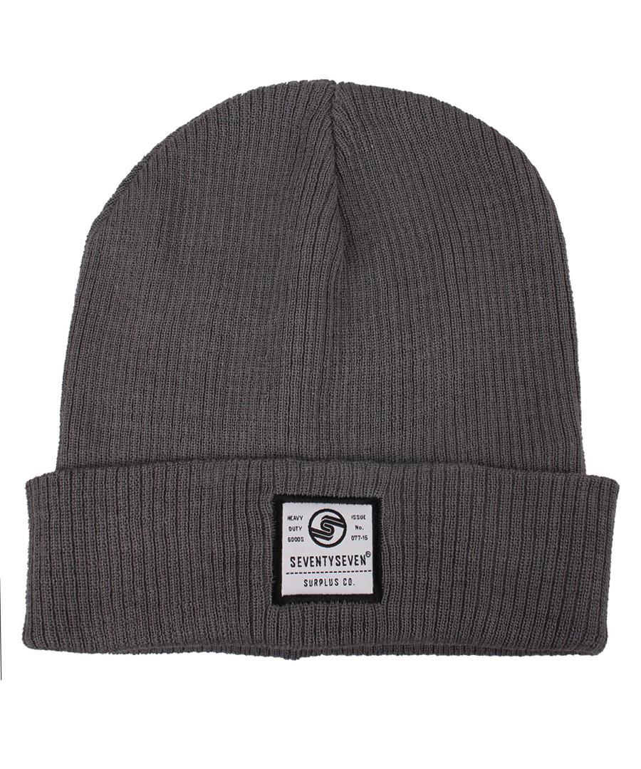 Surplus Co grey ribbed beanie hat Sale - seventy seven