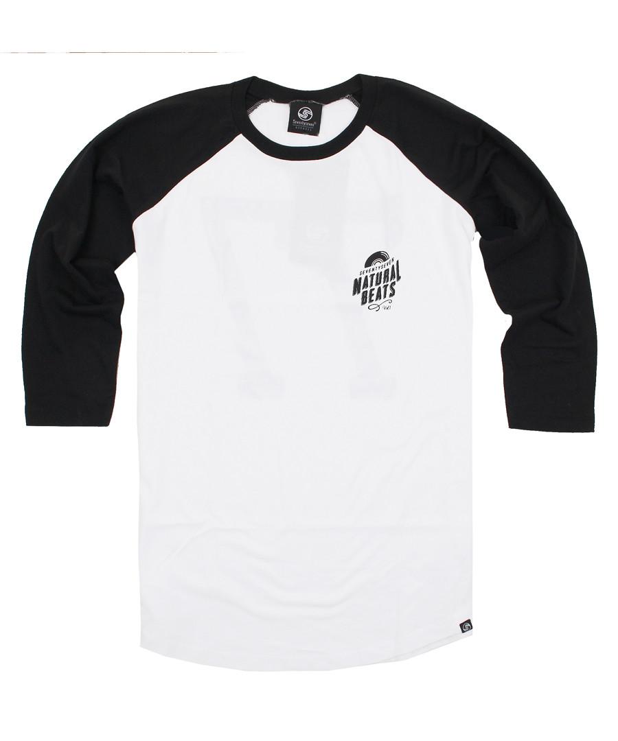 Natural Beats white pure cotton T-shirt Sale - SEVENTY SEVEN