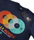 Viva La Muscia navy pure cotton T-shirt Sale - seventyseven Sale
