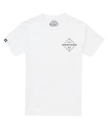 Diamond white pure cotton T-shirt