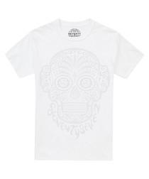Mono Candy white pure cotton T-shirt
