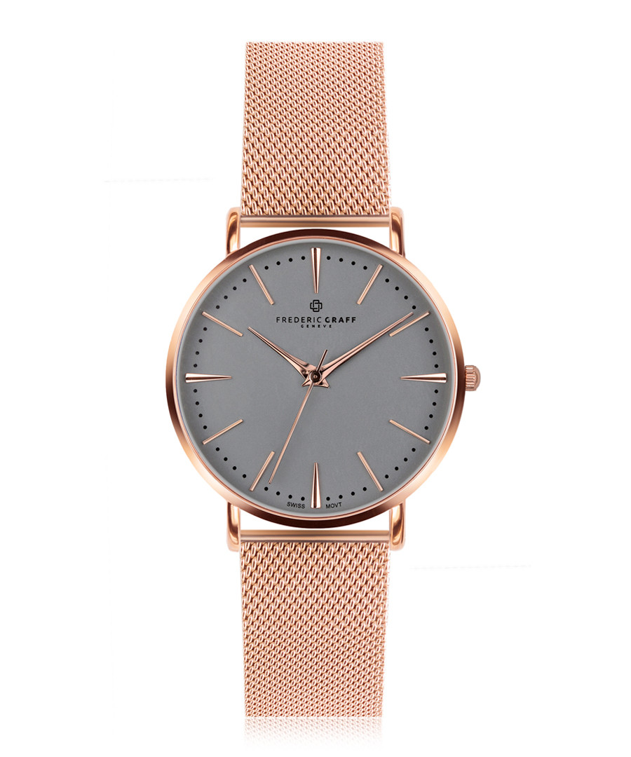 Eiger rose gold-plated steel watch  Sale - frederic graff