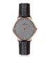 Eiger rose gold-plated & black watch Sale - frederic graff Sale