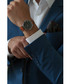 Dom silver-plated & tan leather watch Sale - frederic graff Sale