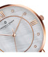 Liskamm rose gold-plated & brown leather Sale - frederic graff Sale