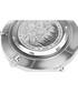 Liskamm silver-plate grey leather watch Sale - frederic graff Sale