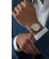 Grand Combin rose gold-plate steel watch Sale - frederic graff Sale
