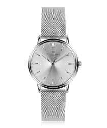 Breithorn silver-tone steel watch