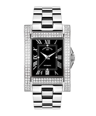 Hera silver-tone stainless steel watch