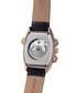 Royale Date black leather & steel watch  Sale - andre belfort Sale