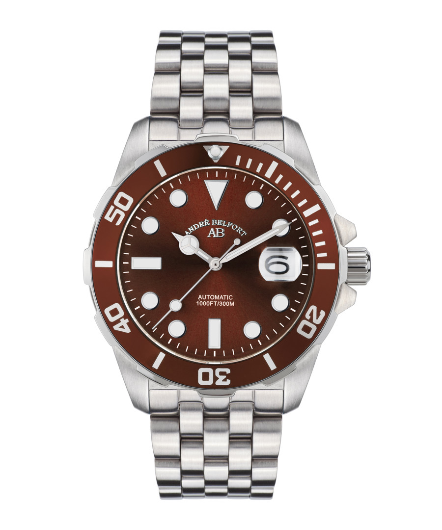 Sous Les Mers steel diving watch  Sale - andre belfort