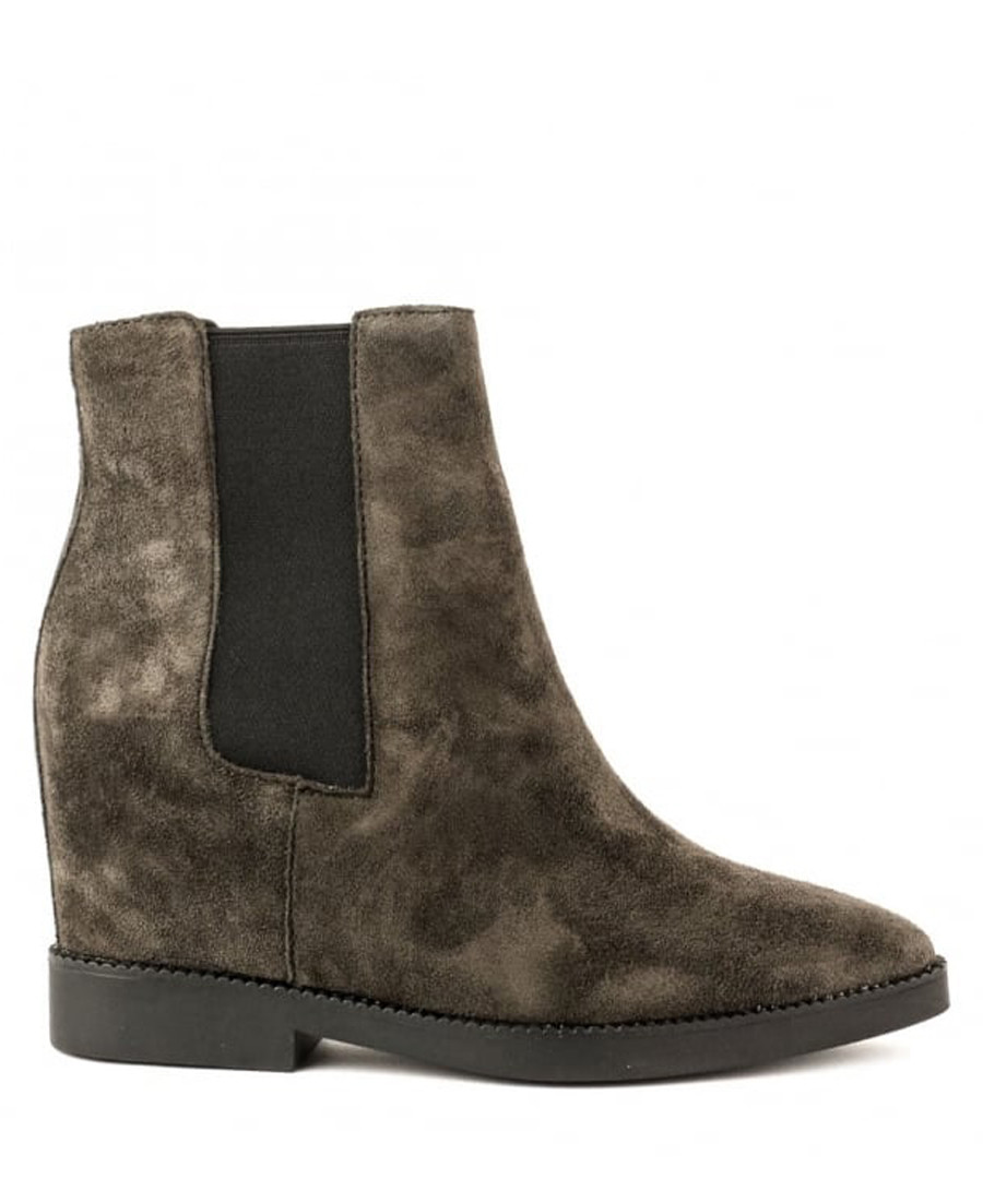 Gong brown suede tall Chelsea boots Sale - Ash