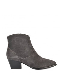 Heidi Bis taupe suede boots