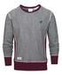 Badge grey cotton blend jumper Sale - putney bridge Sale