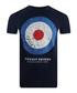 Target Distressed navy cotton T-shirt Sale - putney bridge Sale