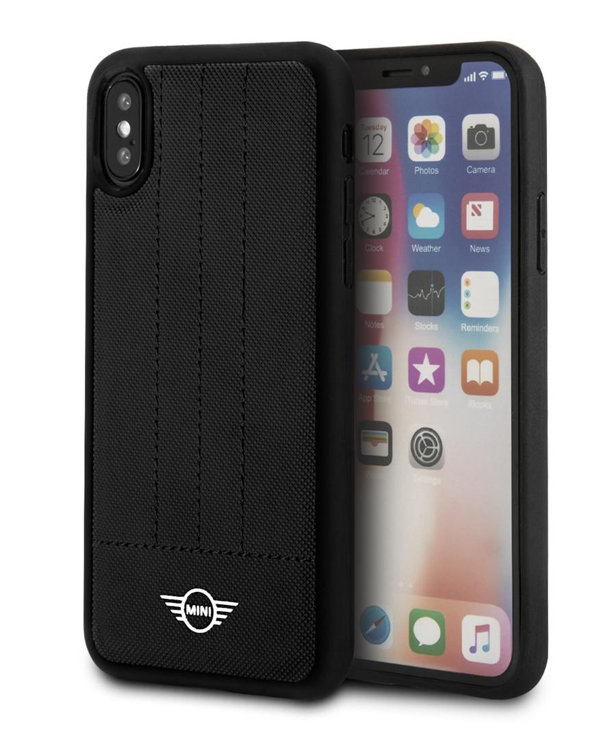 buy popular ea799 86caa Discount Black logo detail iPhone X case | SECRETSALES