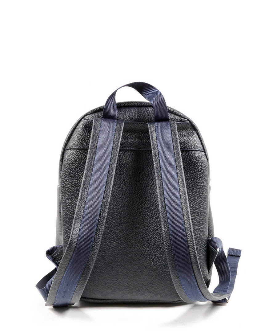 86f5528af588 ... Blue structured logo backpack Sale - VERSACE 1969 ABBIGLIAMENTO  SPORTIVO Sale