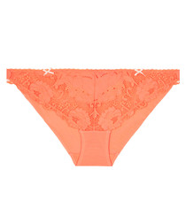 Made In Eden coral lace briefs