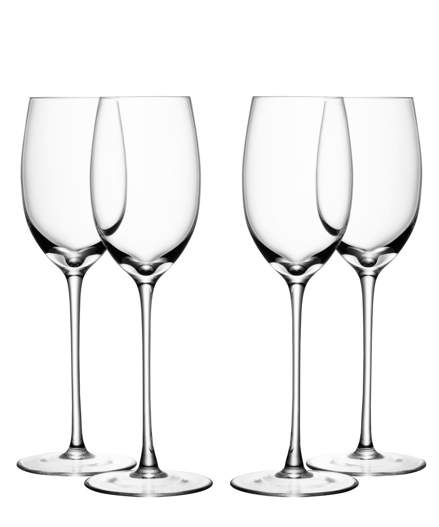 9pc wine glass, coaster & carafe set Sale - lsa