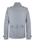 Men's grey wool blend duffle coat  Sale - DreiMaster Sale