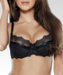 Dalida black lace push-up bra Sale - Fernand Peril Sale