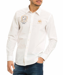 Domenicos white pure cotton shirt