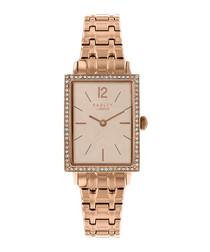 Primrose Hill gold-tone steel watch