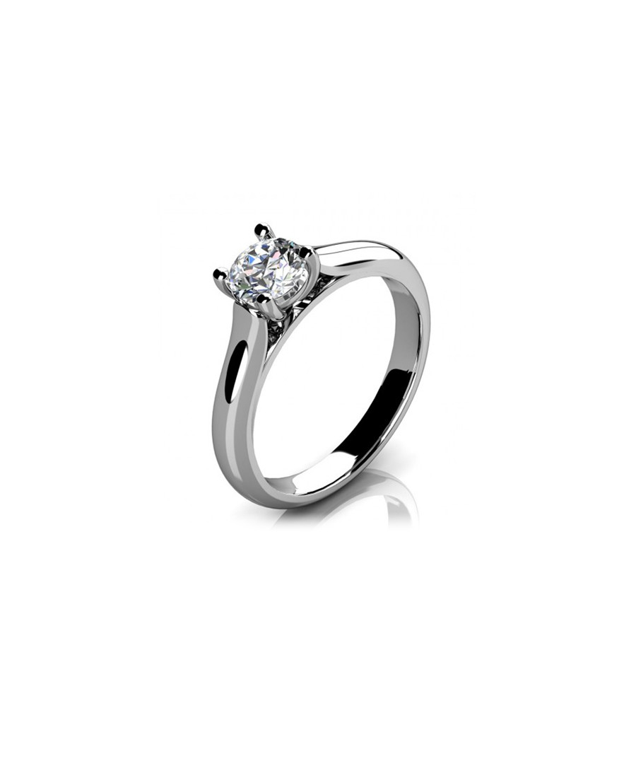 1ct round diamond & platinum ring Sale - Buy Fine Diamonds