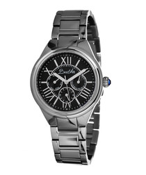 Rachel stainless steel link watch