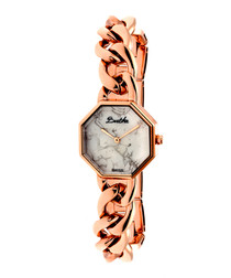 Ethel rose gold-tone steel watch