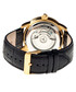 Piccard black & gold-tone leather watch Sale - heritor automatic Sale