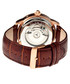 Piccard brown & gold-tone leather watch Sale - heritor automatic Sale