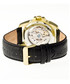 Armstrong black leather watch Sale - heritor automatic Sale