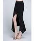 Black front-split maxi skirt Sale - sipaya Sale