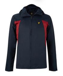 Navy & red lightweight jacket