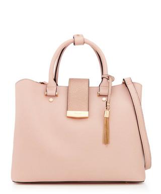 cbe2f274f76d1 Dillia nude tassel shoulder bag Sale - Dune Sale