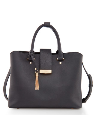 6fc8c9c0f7be1 Dillia black   gold-tone shoulder bag Sale - Dune Sale