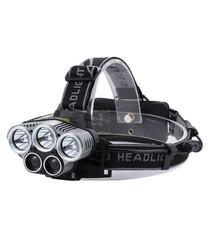 Black USB charger waterproof headlamp