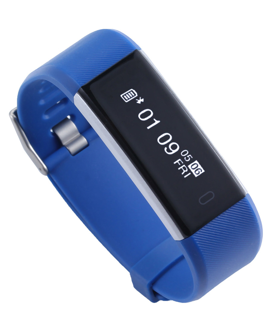 Blue connected heart rate sportswatch Sale - Inki