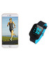 Blue connected heart rate sports watch Sale - Inki Sale