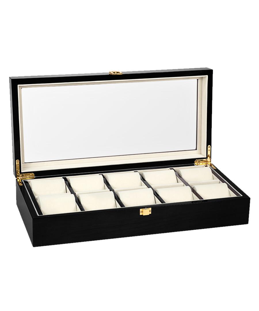 Black 10-watch collector case Sale - mathis montabon